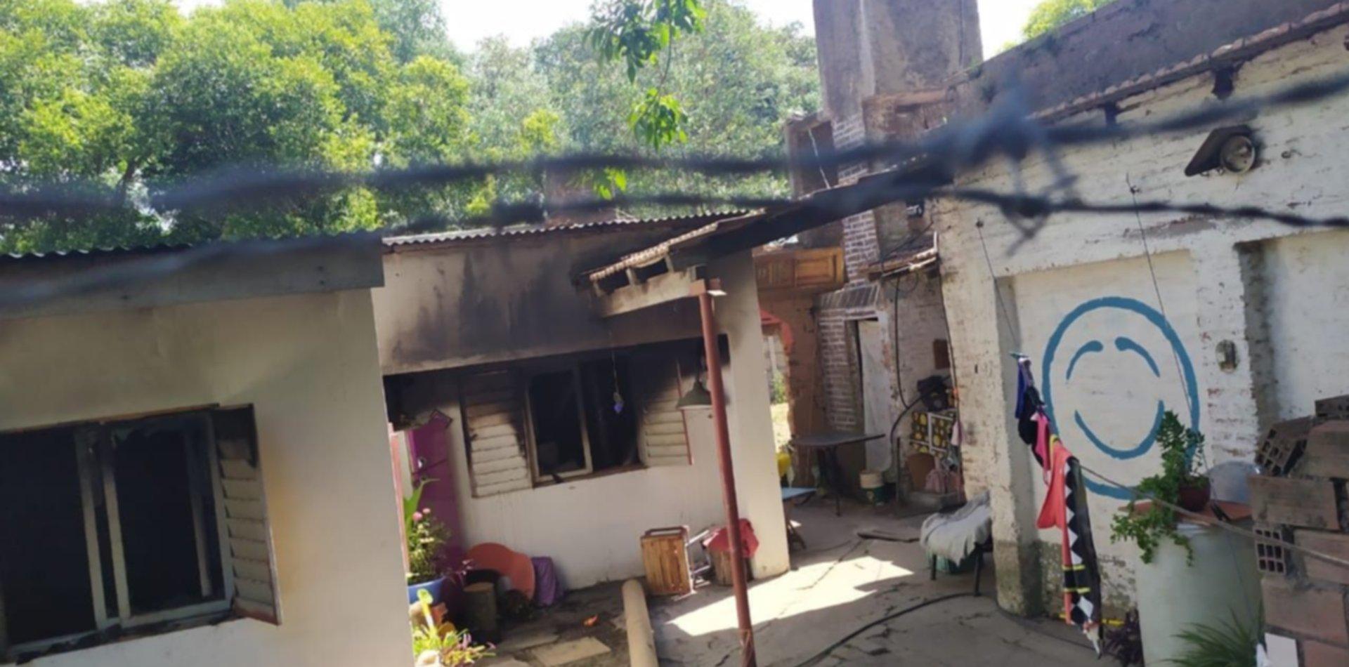 Brutal caso de violencia de género en La Plata: golpeó a su ex, la mordió y prendió fuego su casa