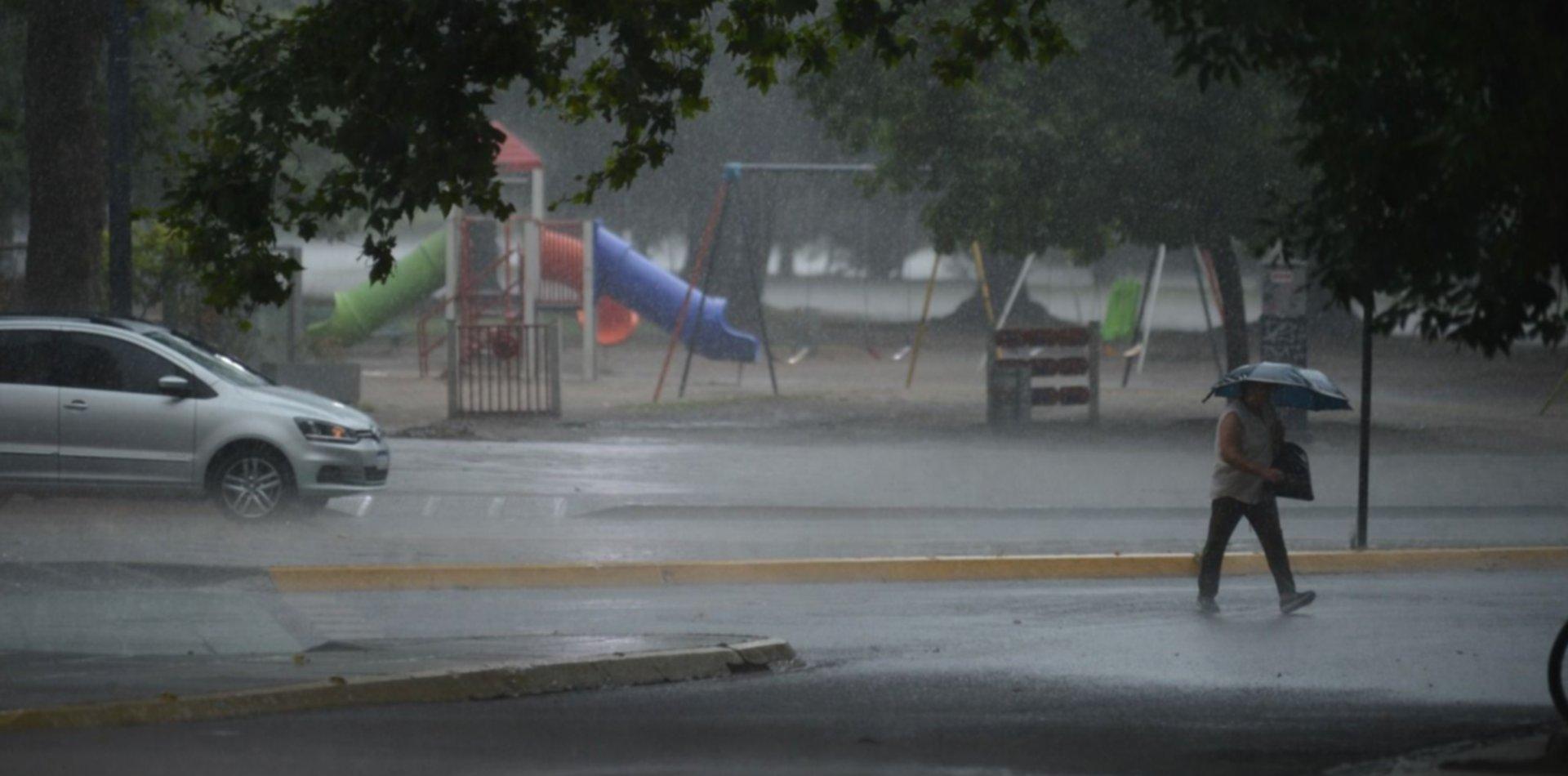 Alerta Meteorológico por tormentas fuertes en La Plata