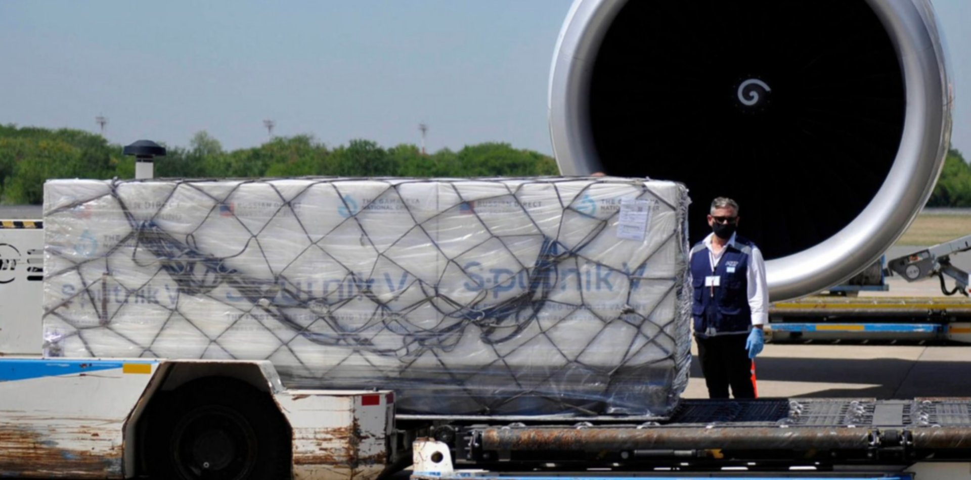 Parte a Rusia el avión que volverá con 300 mil vacunas de la segunda dosis de la Sputnik V
